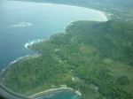 View flying from Simeulue to Medan, Sumatra.