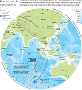 global map Search-MH370-WaPo-685x754