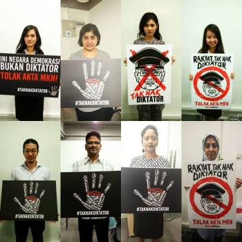Image result for Malaysia continues crackdown on Civil Society Campaigners