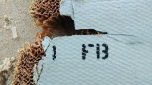 Blaine's discovery of an item that has the honeycomb material found in other debris believed to be from MH370